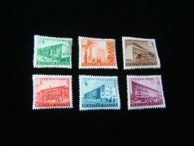 Hungary Scott #962-967 Set Mint Never Hinged