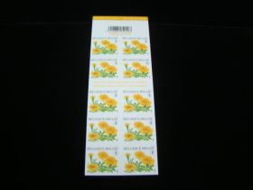 Belgium Scott #2298a Booklet Pane of 10 Mint Never Hinged