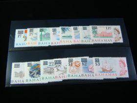 Bahamas Scott #230-244 Set Mint Never Hinged