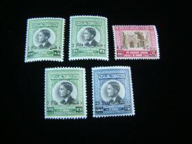 Jordan Scott #423-427 Set Mint Never Hinged