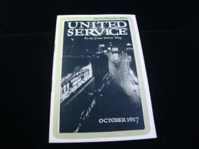 1917 United Service Electrical Exposition Edition Booklet 18 Illustrated Pages