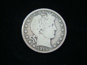 1915-S Barber Silver Half Dollar VG Inv#120520