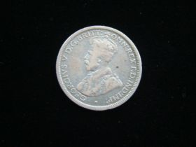 Australia 1918-M Silver 6 Pence Fine KM#25 20418