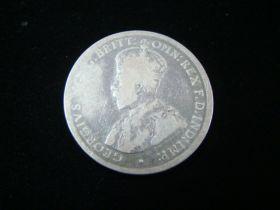Australia 1917-M Silver Florin VG KM#27 80418
